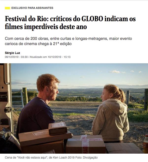 Festival do Rio: Críticos do Globo indicam os filmes imperdíveis deste ano