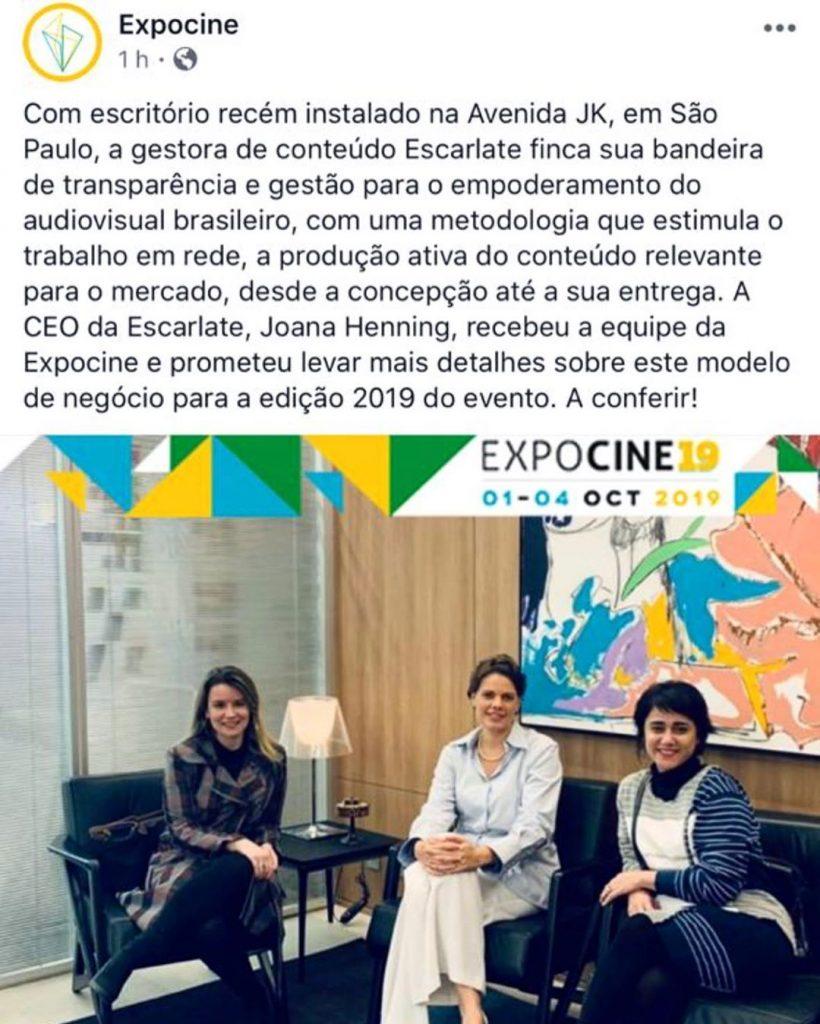 Breve entrevista para Expocine