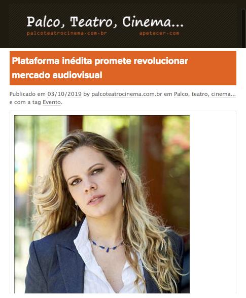 Plataforma inédita promete revolucionar mercado audiovisual